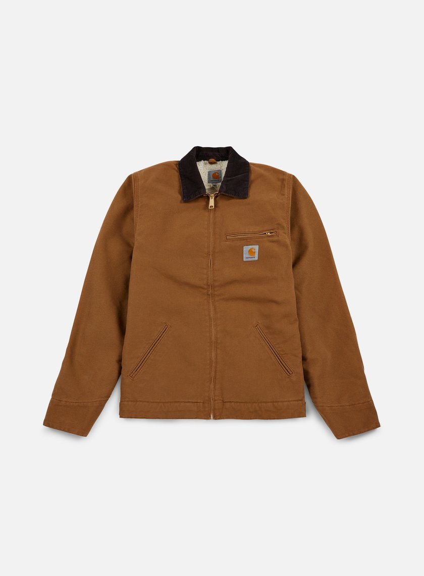 Carhartt - Detroit Jacket, Hamilton Brown/Tobacco Rinsed