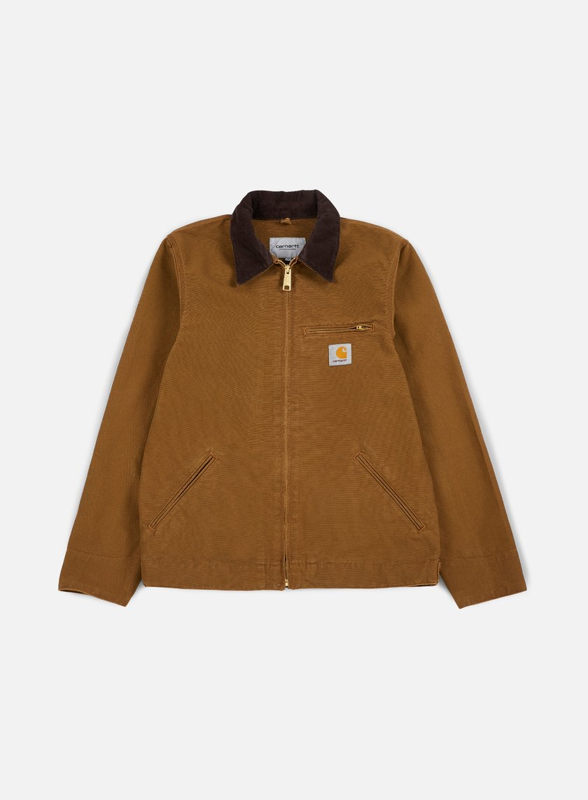 Carhartt - Detroit Spring Jacket, Hamilton Brown/Tobacco Rinsed