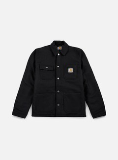 Carhartt - Lined Michigan Chore Coat, Black Rigid 1