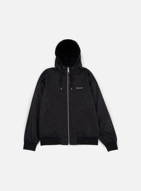 giacche carhartt marsh jacket black