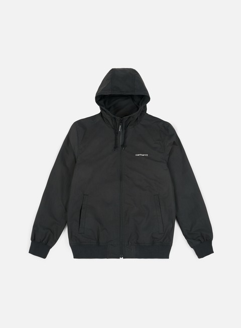 giacche carhartt marsh jacket black shell