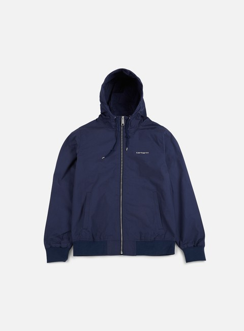 giacche carhartt marsh jacket blue