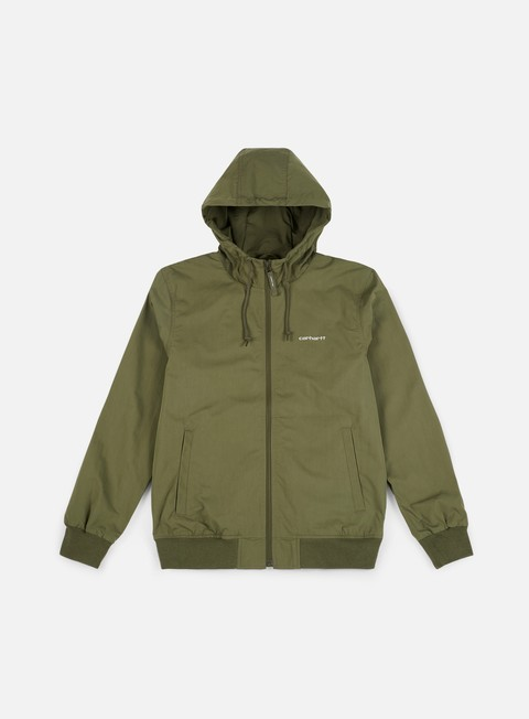 giacche carhartt marsh jacket rover green shell