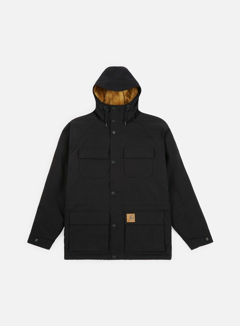 giacche carhartt mentley jacket black