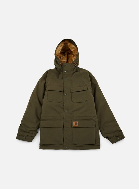 Sale Outlet Hooded Jackets Carhartt Mentley Jacket