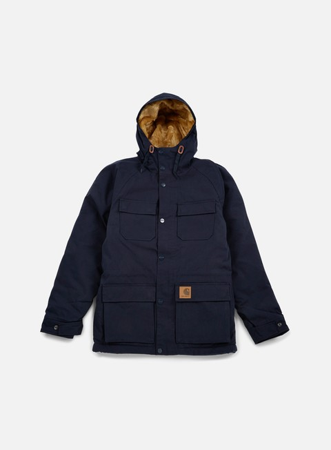 giacche carhartt mentley jacket navy