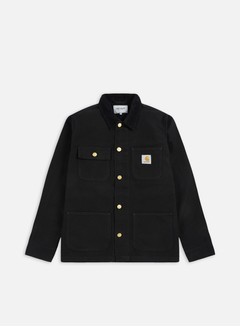 Carhartt - Michigan Chore Coat, Black/Black Rinsed 1