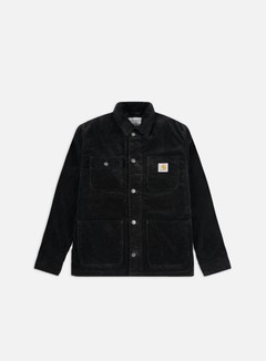 Carhartt - Michigan Chore Coat, Black Rinsed