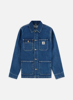 Carhartt - Michigan Chore Coat, Blue Dark Stone Washed