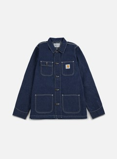 Carhartt - Michigan Chore Coat, Blue Rinsed 1