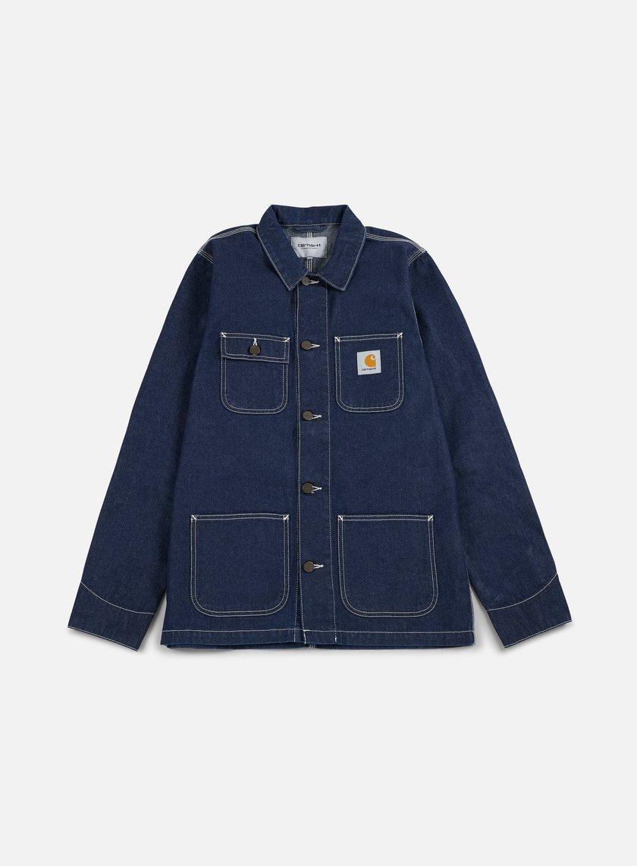 Carhartt - Michigan Chore Coat, Blue Rinsed