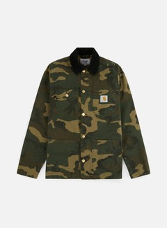 Carhartt - Michigan Chore Coat, Camo Laurel Rinsed