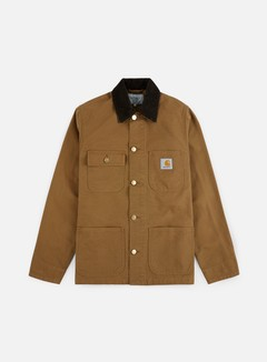 Carhartt - Michigan Chore Coat, Hamilton Brown Rinsed