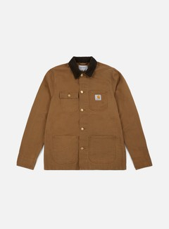 Carhartt - Michigan Chore Coat, Hamilton Brown/Tobacco 1