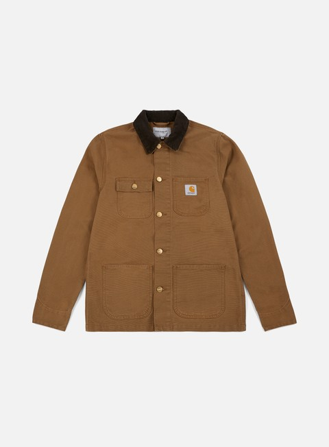 giacche carhartt michigan chore coat hamilton brown tobacco