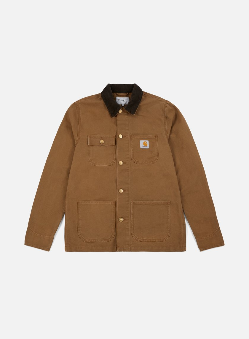 Carhartt - Michigan Chore Coat, Hamilton Brown/Tobacco