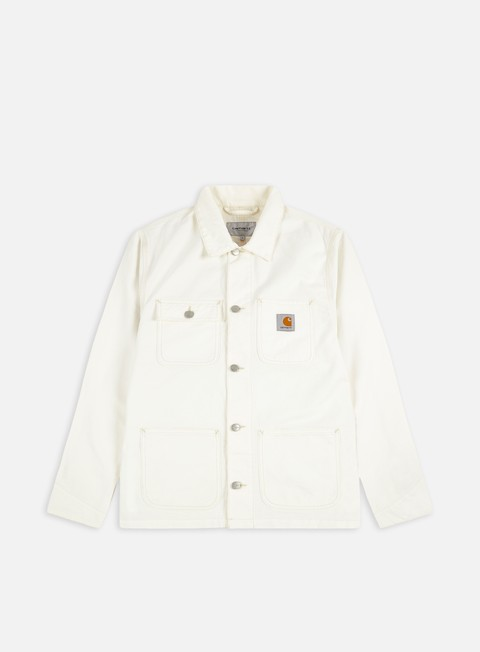 giacche carhartt michigan chore coat off white