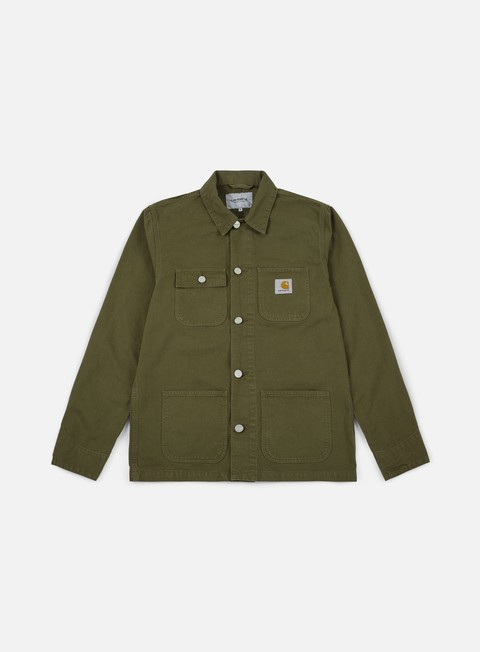 giacche carhartt michigan chore coat rover green