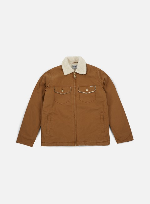 giacche carhartt miles jacket hamilton brown