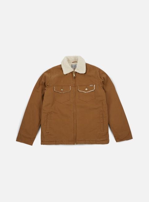 giacche carhartt miles jacket hamilton brown