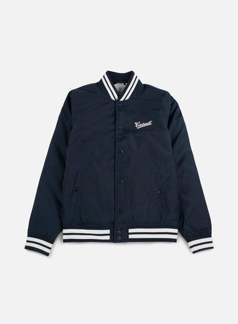 giacche carhartt montana jacket navy wax