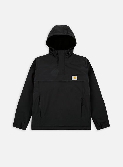 giacche carhartt nimbus pullover jacket black