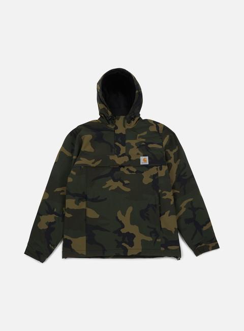 giacche carhartt nimbus pullover jacket camo combat green