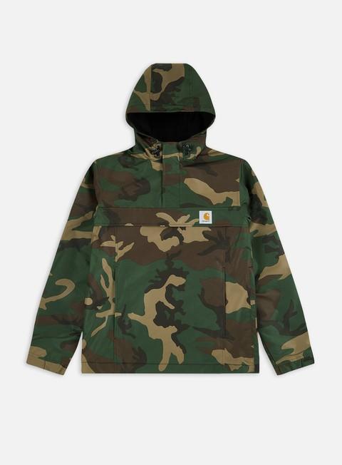 giacche carhartt nimbus pullover jacket camo laurel