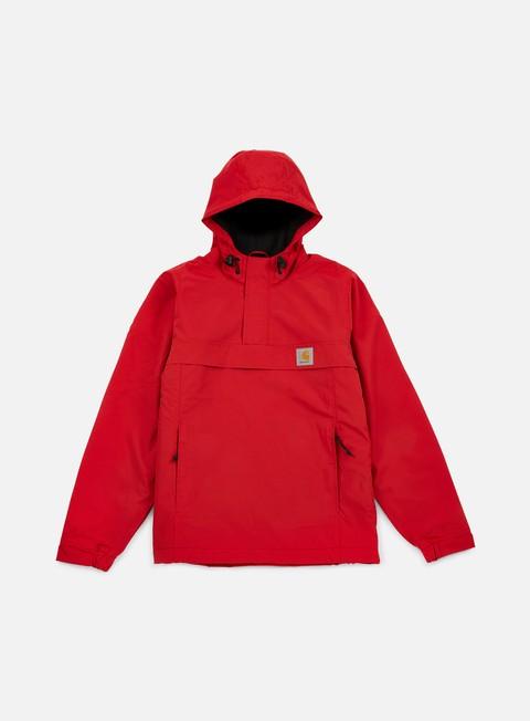 giacche carhartt nimbus pullover jacket rosehip