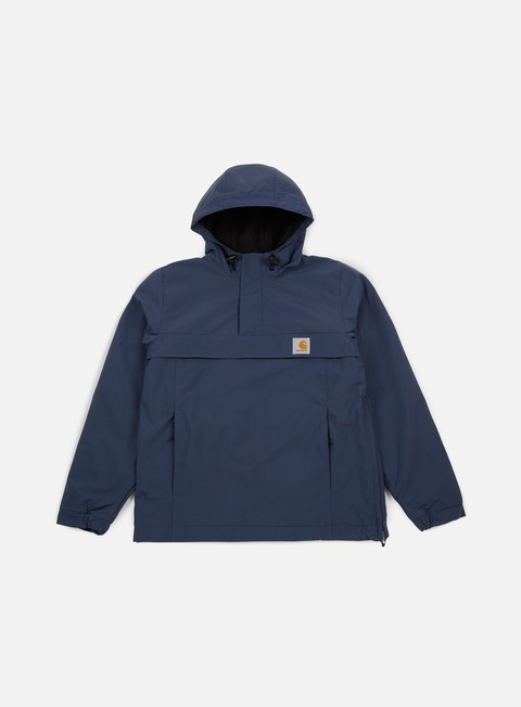 giacche carhartt nimbus pullover jacket steel navy