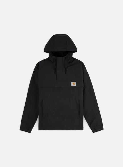 giacche carhartt nimbus spring pullover jacket black