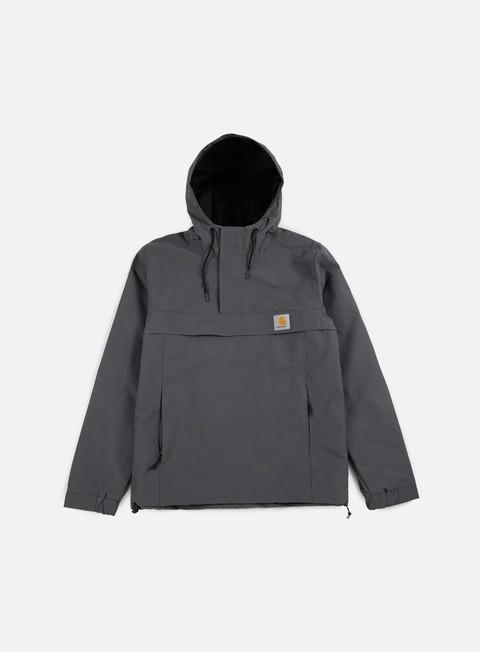 giacche carhartt nimbus spring pullover jacket blacksmith