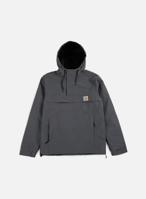 Carhartt - Nimbus Spring Pullover Jacket, Blacksmith