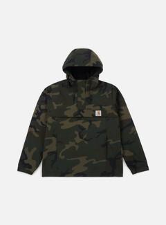 Carhartt - Nimbus Spring Pullover Jacket, Camo Combat Green
