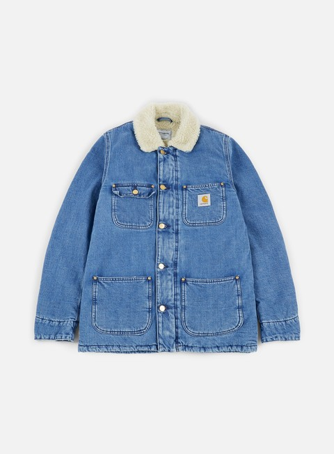 giacche carhartt phoenix coat blue stone washed