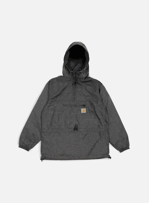 giacche carhartt spinner pullover black