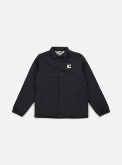 Carhartt - Sports Pile Coach Jacket, Black/Wax 1