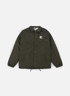 Carhartt - Sports Pile Coach Jacket, Cypress/Wax
