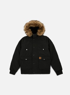 Carhartt - Trapper Jacket, Black/Black