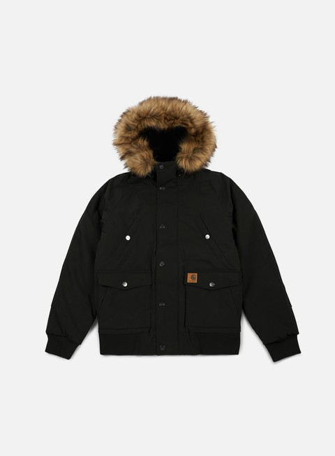 giacche carhartt trapper jacket black black