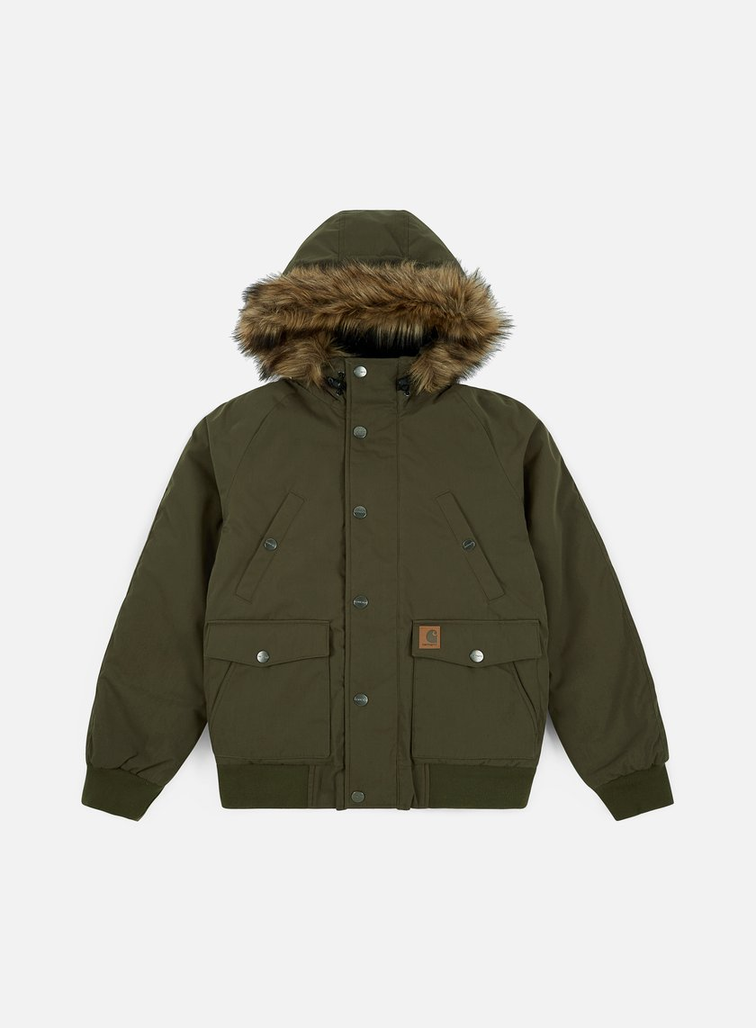 Carhartt - Trapper Jacket, Cypress/Black