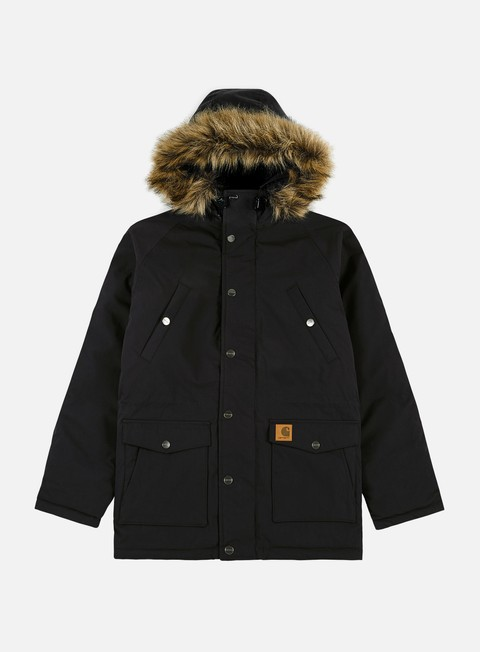 giacche carhartt trapper parka jacket black black