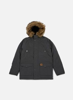 Carhartt - Trapper Parka Jacket, Blacksmith/Black