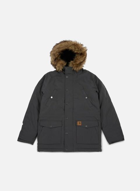 giacche carhartt trapper parka jacket blacksmith black