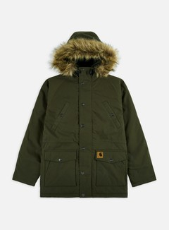 Carhartt - Trapper Parka Jacket, Cypress/Black 1