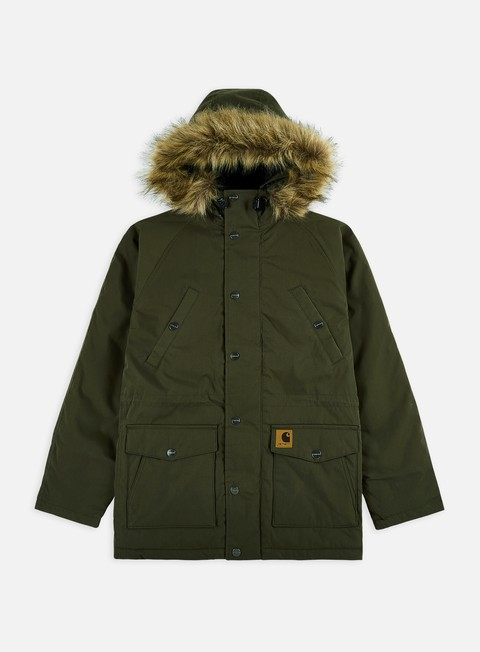 giacche carhartt trapper parka jacket cypress black