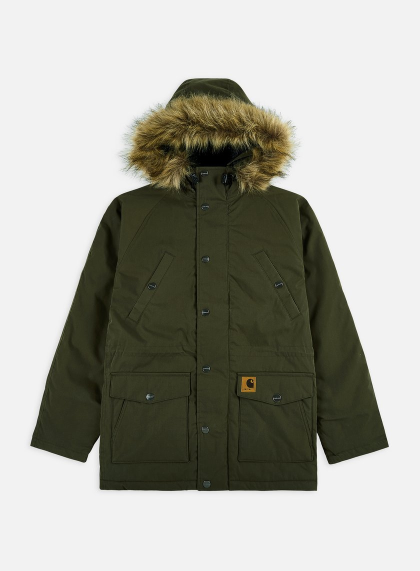 Carhartt - Trapper Parka Jacket, Cypress/Black