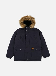 Carhartt - Trapper Parka Jacket, Dark Navy/Black 1