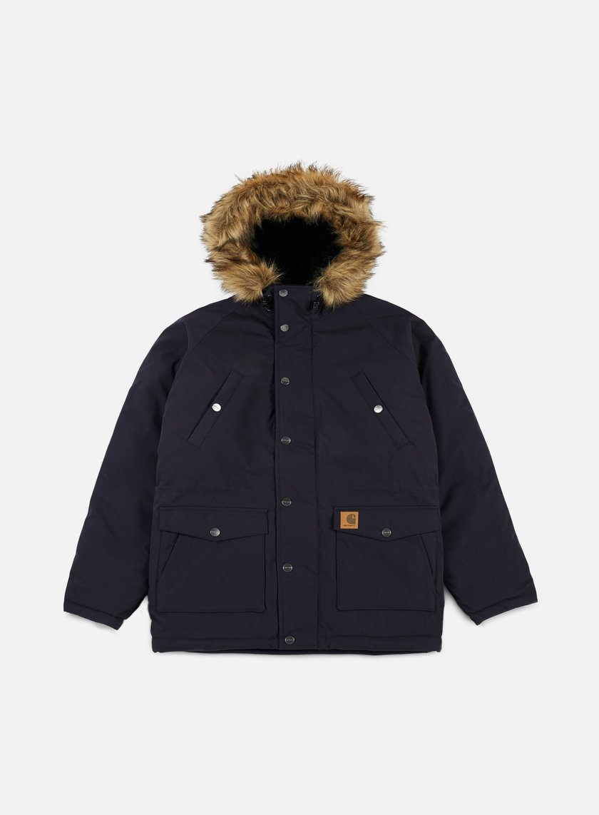 Carhartt - Trapper Parka Jacket, Dark Navy/Black