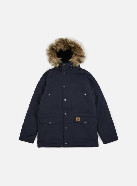 giacche carhartt trapper parka jacket navy black